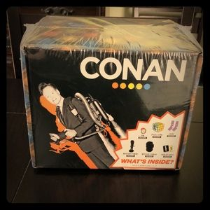 Conan O'Brien Gift Box including socks, pins, etc!